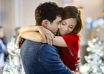 Photo: David Alpay, Rachel Boston  Credit:  Copyright Crown Media United States, LLC/Photographer:  Marcel Williams