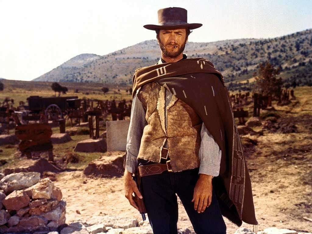 """Clint Eastwood di """"The Good, The Bad And The Ugly"""""""