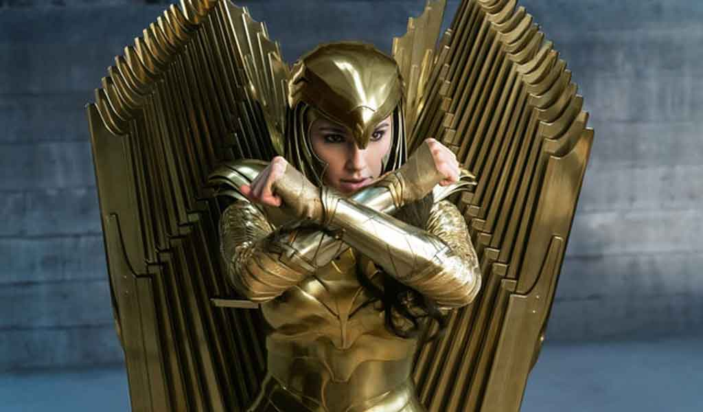 The Eagle Armor Wonder Woman 1984