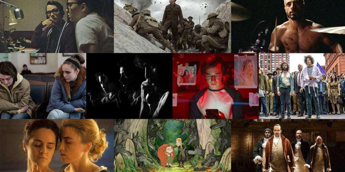 1917, The Trial of Chicago 7, Andhaghaaram, Hamilton, WolfWalkers, The Vast of Night, Sound of Metal