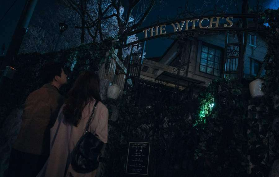 Come to the Witch's Restaurant